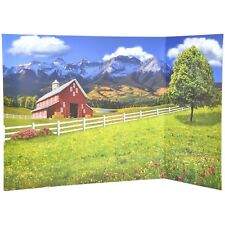 New My Life As Reversible Background 2 sided Farm/Barn & Design Studio for Doll!