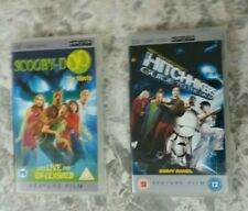 Psp umd films 2 x films SCOOBY DOO AND THE HITCHHIKERS GUIDE TO THE GALAXY