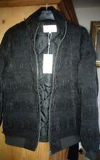 Gorgeous black pleated padded jacket by VILA. Sz.M( 12-14). BNWT. £60.
