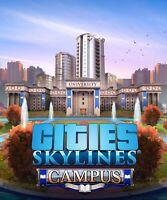Cities Skylines Campus Expansion DLC for PC Steam (KEY ONLY) Fast Delivery