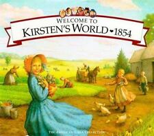 American Girl Welcome to Kirsten's World 1854 Growing Up Pioneer America NEW