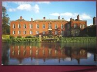 POSTCARD CHESHIRE DUNHAM MASSEY - THE NORTH FRONT NATIONAL TRUST