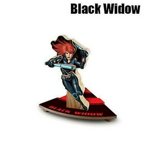 LOWE'S - BLACK WIDOW - 2016 BUILD AND GROW MARVEL AVENGERS WOODEN KIT - NIP