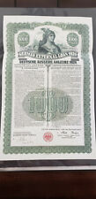 1924 German Gold Bond external loan no coupons  Please read Below!