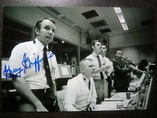 Gerald Griffin Authentic Hand Signed Autograph 4X6 Photo Apollo Flight Director
