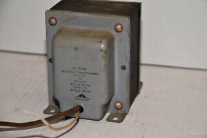 ONE  Isolation Transformer Triad N-55M Vintage Electronics Industrial