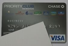 Expired Chase Bank Business Visa Credit Card Priority Club