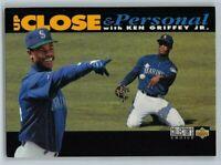 1994  KEN GRIFFEY JR. Upper Deck Collector's Choice UP CLOSE Baseball Card # 634