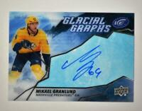 2019-20 ICE Glacial Graphs Auto #GG-MG Mikael Granlund - Nashville Predators