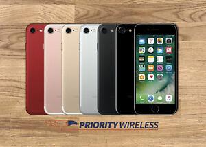 Apple iPhone 7 32/128/256GB A1660 AT&T T-Mobile Verizon Unlocked Good