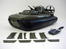 GI JOE KILLER WHALE Vintage Action Figure Vehicle Hovercraft NEAR COMPLETE 1984