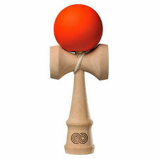 Kendama USA Kaizen Beech Wood Kendama - Silk Paint - Burnt Orange