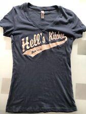 Hell's Kitchen Blue Rare Graphic Shirt  Hells Kitchen NYC New York Shirt Sz S
