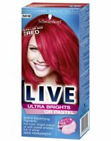 Schwarzkopf Ultra Brights 092 Pillar Box Red Semi-Permanent Hair Colour Dye x 1