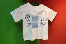 """2T/ 24M CHROMIA TRANSFORMERS to """"GABBY"""" white T Shirt Autographed Kramer"""