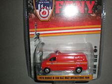 1/64th Greenlight 1976 FDNY Dodge B-100 Haz-Mat Operations Van