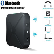 Wireless Bluetooth Audio Transmitter Receiver Stereo Music Adapter RCA AUX