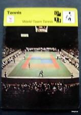 1977-1979 Sportscaster Card Tennis World Team Tennis 17-19