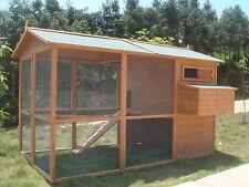 2018 Chicken Hen Coop Poultry Cat Rabbit House CC058 upto 12 hens FREE DEL