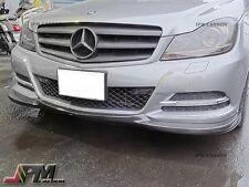 For W204 C204 C250 C300 C350 2012+ Standard one GH Carbon Fiber Front Bumper Lip