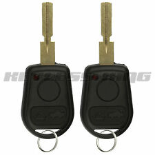 2x Replacement for BMW Beemer LX8 FZV Keyless Entry Remote Car Key Fob Notch