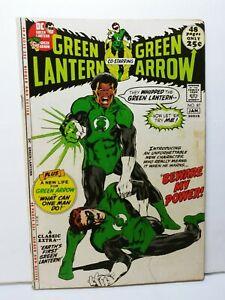 Green Lantern 87 1st appearance John Stewart  #87 1972 Bronze Age HBO Diggle 1
