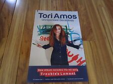 """tori amos  lot of 2  unrepentant geraldines  11"""" x 17"""" promo poster  ex   p702"""