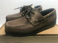 Timberland Piper Cove Men's 9 Wide  Fg Boat Shoe Brown A1N51