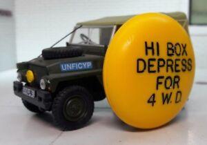 Rare Military Yellow Gear 4 Wheel Drive Selector Knob Land Rover Series 1 2 2a 3