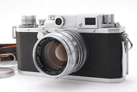 """NEAR MINT"" CANON IIF RANGEFINDER MF w/50mm f1.8 LENS Leica L39 Mount Japan"
