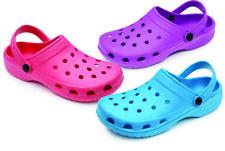 WOMENS LADIES SLIP ON RUBBER WATER GARDEN OUTDOOR CLOGS SANDALS Sizes 6/7-8/9-10