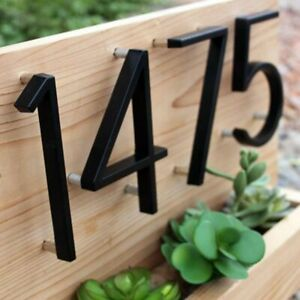 Big House Numbers Home Door Floating Outdoor Address 127mm/5inch Decor Hotel
