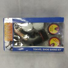 Travel Shoe Shine Kit New Battery Operated