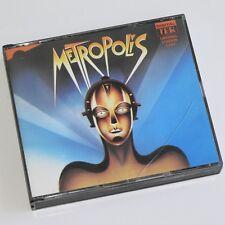 METROPOLIS - Original London Cast Recording - 2 x CD FatBox RARE Brian Blessed