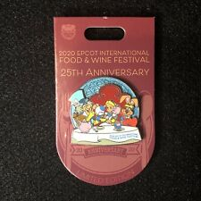 Disney Epcot Food And Wine 25th Anniversary Alice In Wonderland Pin Le 3000 New
