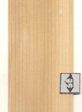 "WAINSCOT SHEET 3/16"" dollhouse  miniature 1pc 1/12 scale wainscoting cla70239"