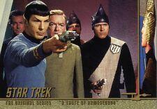 Star Trek Original TOS Season 1 Chase Character Log C46 Taste Armegeddon