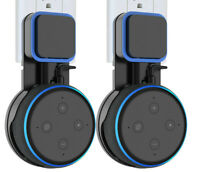 2X Wall Mount Hanger Stand for For Amazon Echo Dot 3rd Gen Compact Holder Case