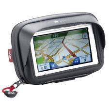GIVI teléfono inteligente/Soporte Gps Para Manillar adecuado para pantallas de hasta 4.3 pulgadas