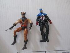 Marvel Universe Wolverine & Captain America