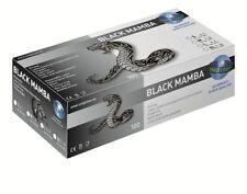 Unigloves BLACK MAMBA Latex Handschuhe S-XL Einmalhandschuhe 100 Stück/Box