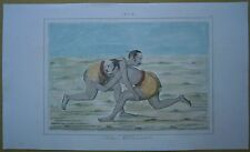 1845 print India: Wrestlers (#84)