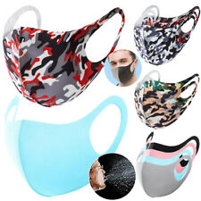 Unisex Fashion Washable Reusable Breathable Face Mask Mouth Cover For Adult Kids