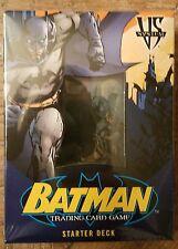 Batman Trading Card Game Starter Deck by Upper Deck Vintage 2005 DC VS. System