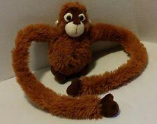 "FAO Schwarz Orangutan Connect Hand Long Arms Hanging Monkey Plush Toys R Us 10"""