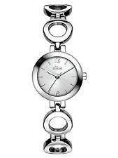 S.Oliver Damen-Armbanduhr Analog Quarz Alloy Time Module Silber Weiß SO-3013-MQ