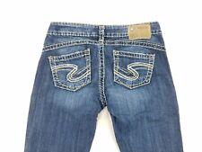 Silver Jeans Tuesday 16 1/2 Baby boot Cut Womens Denim Jeans Pants sz W27 L31