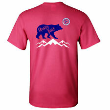Southern Charm Collection Mama Bear on a Pink T Shirt