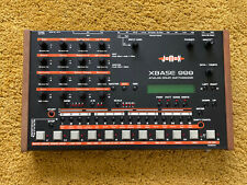 Jomox Xbase 999 Drum Synthesizer And New Battery Excellent Condition 888 909 808