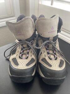 Womens Vasque  Breeze III GTX Sz  10.5 Medium Waterproof Grey  Trail Hiking Boot